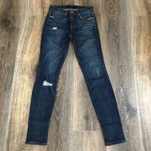 J Brand Skinny Jeans distressed